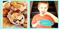 Almond & Blackcurrent Muffins